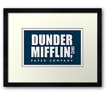 DUNDER MIFFLIN, INC Framed Print