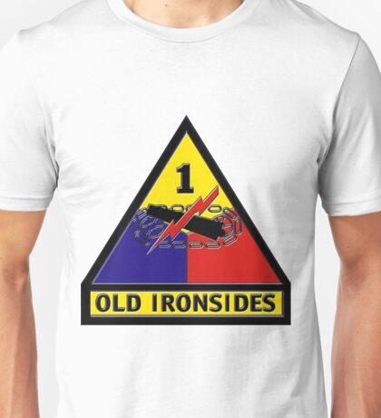 1st Armored Division Crest Unisex T-Shirt