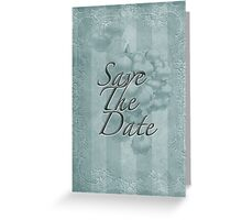 Save The Date - Lily of the Valley Floral Greeting Card
