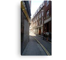 a small road through London Canvas Print