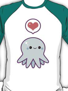 Cute Blue Octopus T-Shirt