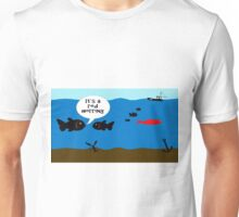 A red herring Unisex T-Shirt