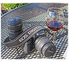 Canon and Cabernet Poster