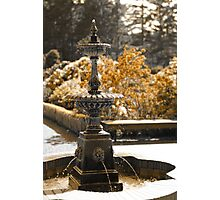 My Favorite Fountain Photographic Print
