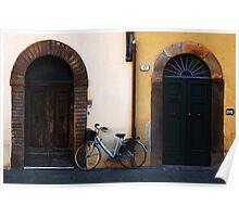 Doorways In Lucca Italy Poster