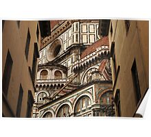 Florence The Duomo Fasade Poster