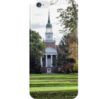 Parker Hall - Hanover College iPhone Case/Skin