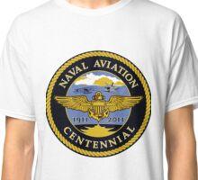 Naval Aviation Centennial Logo Classic T-Shirt