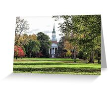Parker Hall - Hanover College Greeting Card