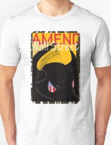 Amend Wall Street  - Taurus Unisex T-Shirt