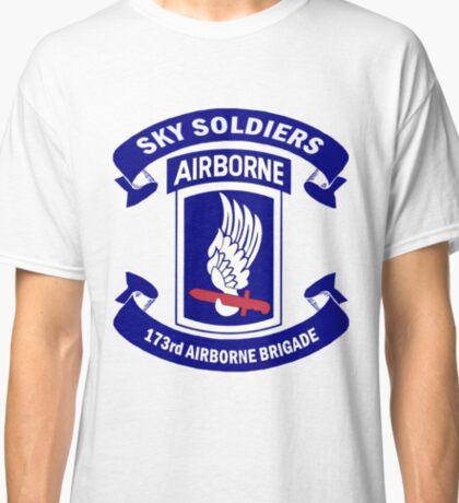 173rd Airborne Brigade Combat Team Crest Classic T-Shirt