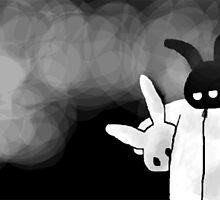 White Rabbit by fliberjit