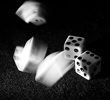 Tumbeling Dice by Kelly Rockett-Safford