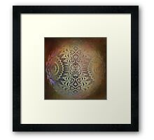 Abstraction-Digital Abstract Framed Print