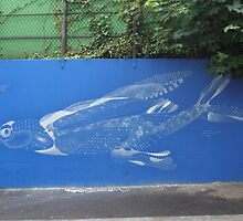 Blue fish by Carol Dumousseau