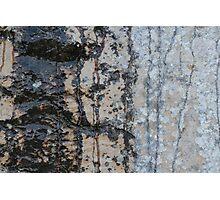 Rock painting Photographic Print