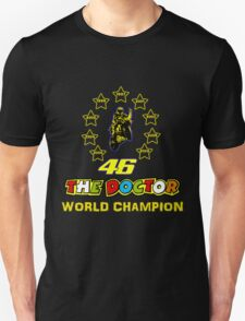 Valentino Rossi 46: World Champion in MotoGP (A) T-Shirt