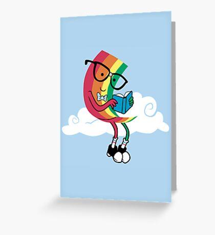 Reading Rainbow Greeting Card