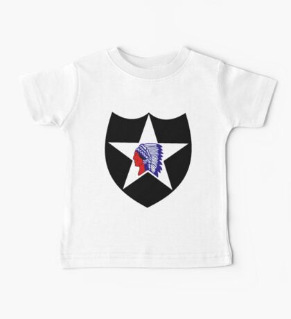 2nd Infantry Division Logo Baby Tee