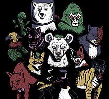 Predators of the Bat by sponzar