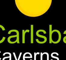 carlsbad caverns t shirt new mexico truck stop Sticker