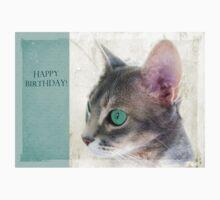 "Cat Eye ""Happy Birthday!"" Kids Tee"