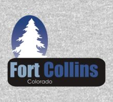 fort collins Colorado t shirt truck stop novelty by Tia Knight