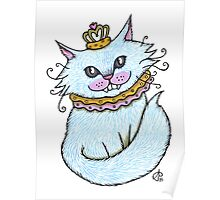 Little Blue Cheshire Poster