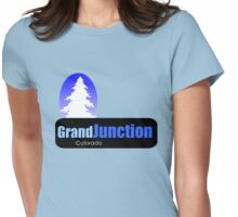 grand junction Colorado t shirt truck stop novelty Womens Fitted T-Shirt