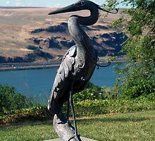Heron by Dave Davis