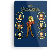 Buffy and the Scooby Gang Metal Print