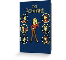 Buffy and the Scooby Gang Greeting Card