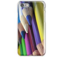 Pencil Crayons iPhone Case/Skin