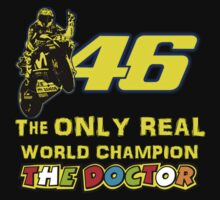 Valentino Rossi 46: The only real 2015 World Champion MotoGp Kids Clothes