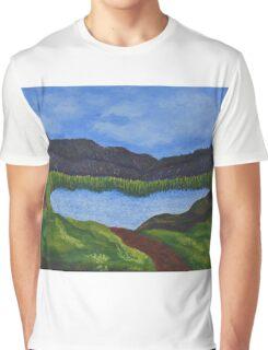 007 Landscape Graphic T-Shirt