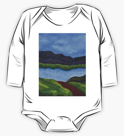 007 Landscape One Piece - Long Sleeve