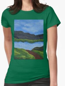 007 Landscape Womens Fitted T-Shirt
