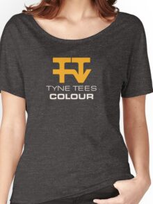 Tyne Tees regional ITV station logo Women's Relaxed Fit T-Shirt