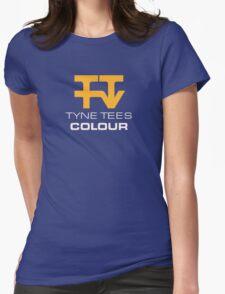 Tyne Tees regional ITV station logo Womens Fitted T-Shirt