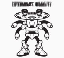 Exterminate Humanity  by mariocassar