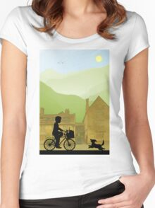 Childhood Dreams, Special Delivery Women's Fitted Scoop T-Shirt