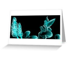 Neon Fairy Greeting Card
