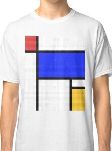 Mondrian Blocks Classic T-Shirt