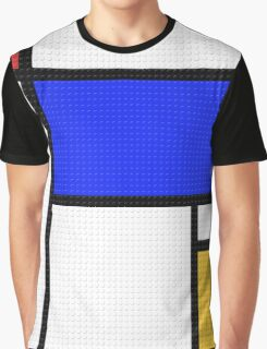 Mondrian Blocks Graphic T-Shirt