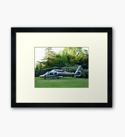 Another Toy For The Boys Framed Print