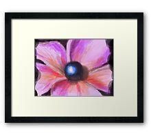 Pearl Flower Framed Print