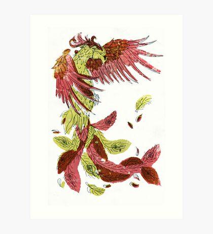 Light Phoenix Art Print