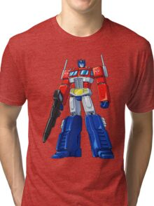 Optimus Prime Tri-blend T-Shirt