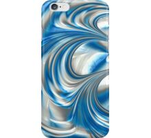 Nickel Blue Abstract iPhone Case/Skin