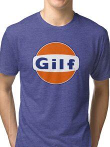 """GILF"" - Gulf Gas Parody - Grandmother I Would Like to F&@K Tri-blend T-Shirt"